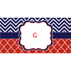 Personalized Monogrammed Lilly Pulitzer Car License Plate