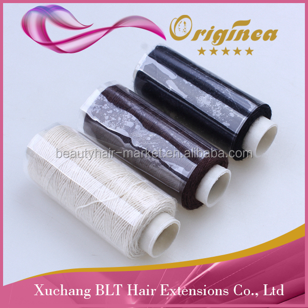 wholesale cotton Hair Weaving Thread hair extension hair weaving sewing thread