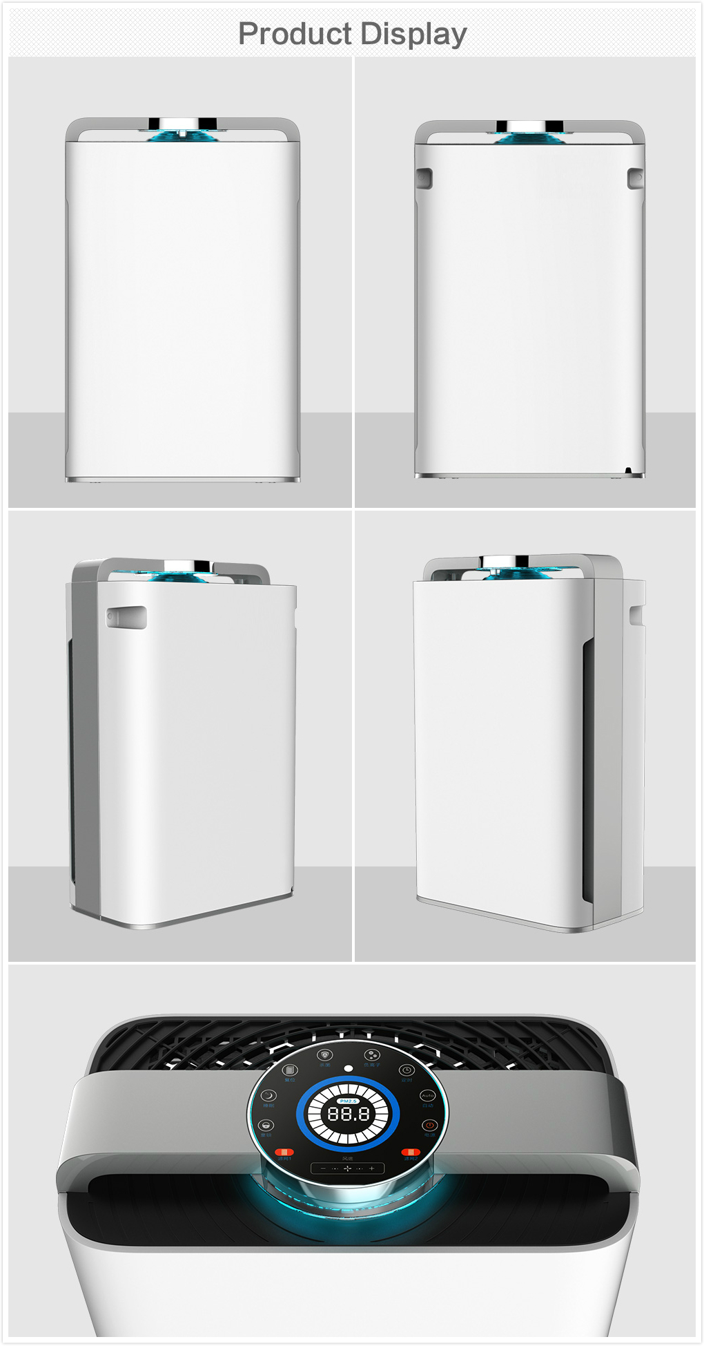 humidifier air purifier air washer purifying machine with WIFI