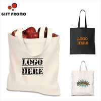 Promotional Cheap Printed Heavy Duty Cotton Canvas Shopping Tote Bag