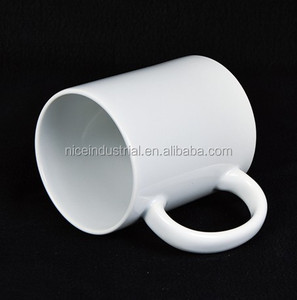 11oz Sublimation white mug/ Grade A ceramic white mug porcelain white mug/ cup