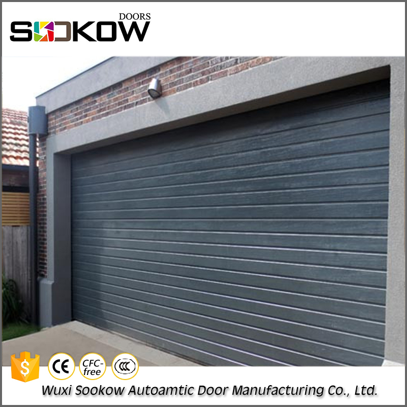 Factory direct provide steel garage door panels prices automation