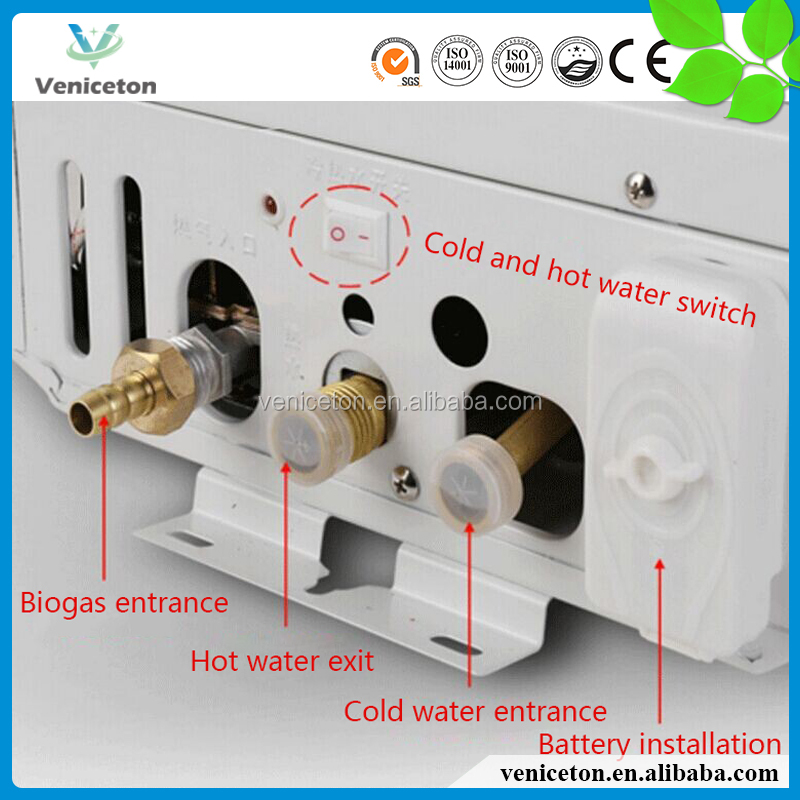 veniceton instant best seller biogas gas room induction tankless water heater in china buy gas room tankless water water