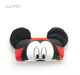XiaWen high quality cute cartoon kids eyeglasses case wholesale soft glass case