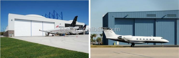 aircraft stockhouse door large size hangar sectional door
