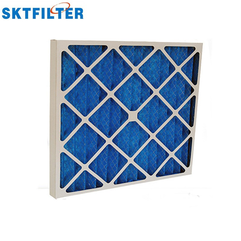 V-Bank plastic frame air filter for HVAC System