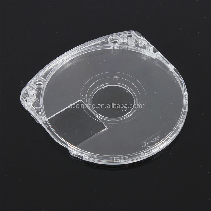 Replacement UMD Game Disc Storage Case Crystal Clear Shell For Sony PSP 1000 2000 3000