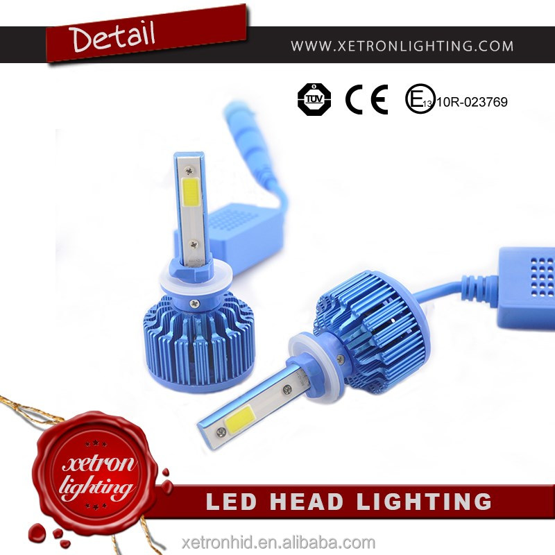 Automobiles & motorcycles 4000Lm H7 Led Headlight Cob Led <strong>Auto</strong> 25W H1 H4 9005
