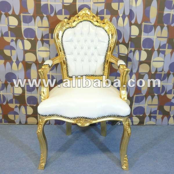 silln blanco real neo barroco rococ lujo moderno fabuloso comedor living room sets egipto de