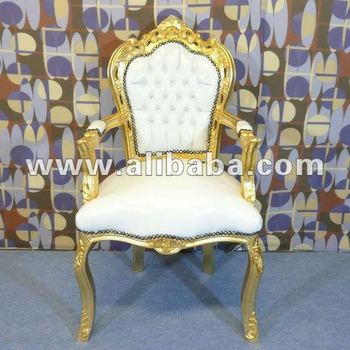 White Armchair Royal Neo Rococo Luxury Fabulous Modern Baroque Dining  Living Room Sets Antique Furniture Reproductions
