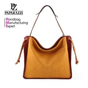 390b636992 M5097 New arrival wholesale fashion drawstring decorative women crocodile  camel shopping bag