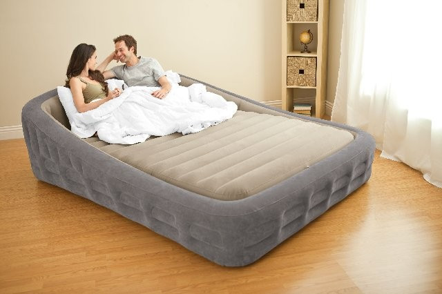 2019 Intex 67972 King Size Inflatable Bed With Electric