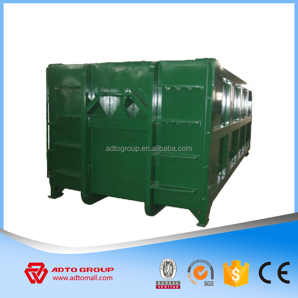 Waste recycling bins manufacturer 2016 hot sale hook lift containers