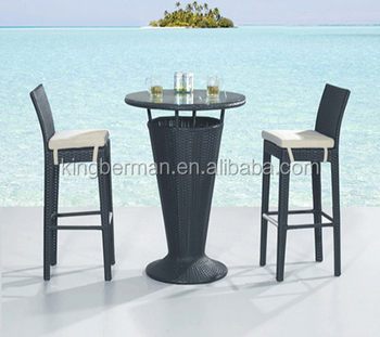 Sensational Outdoor Aluminum Bar Furniture Rattan Weave Bar Stool And Bar Table Buy Cheap Rattan Bar Stools Rattan Wicker Outdoor Bar Stools High Tables And Bar Squirreltailoven Fun Painted Chair Ideas Images Squirreltailovenorg
