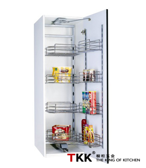 Tall Unit Pull Out Kitchen Cabinet Sliding Basket Storage
