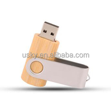 Oem Bulk Twister Wooden Usb Flash Drive 1gb 2gb 4gb 8gb Twister Pendrive With Customize Laser Engraved Logo