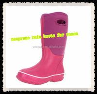 neoprene rain boots for women