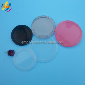 Wholesale Tin can plastic lid