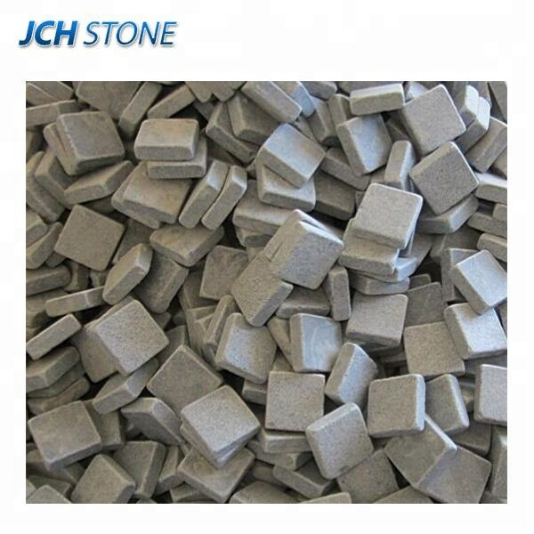 Wholesale cheap outdoor granite driveway paving stone, garden granite cube stone paver