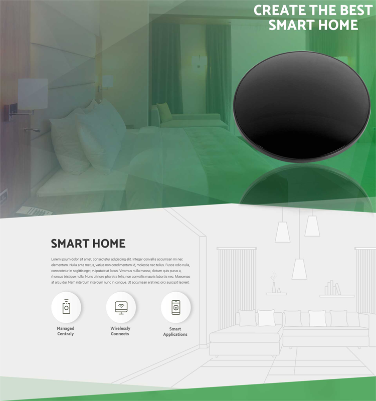 IOS Android Smart Home Automation Infrared Zigbee Rf Wireless Wifi Remote Control
