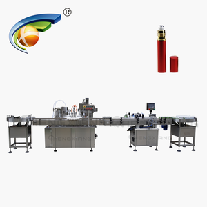 Factory price perfume filling and crimping machine