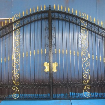 High Quality New Design Iron Main Gate Colors Buy Gates