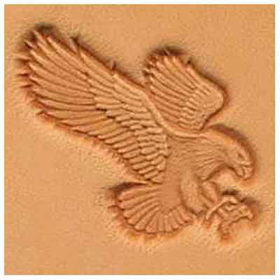 Springfield Leather Company Attack Eagle 3D Leather Stamp (Right Facing)