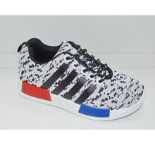 New men breathable walking spring blade sole running shoes