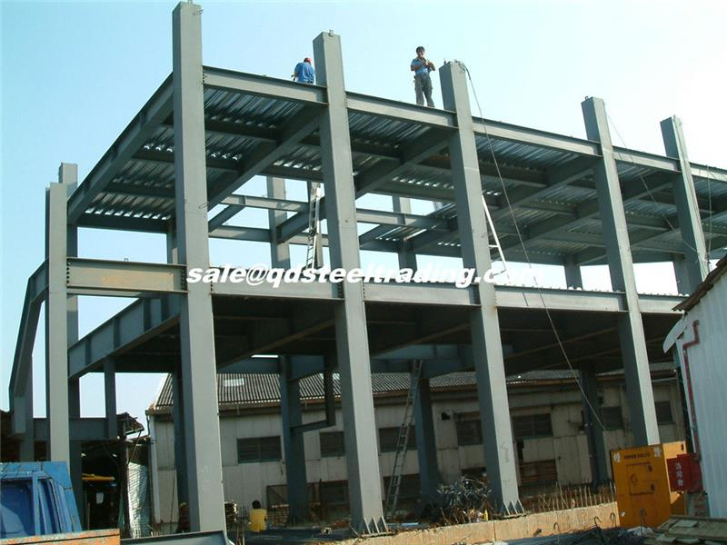 Professional steel structure building from STL