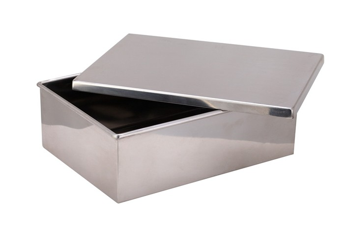 heavybao hot quality stainless steel metal small waterproof storage box u0026 bin with lid
