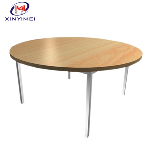 indoor wooden furniture half round tables