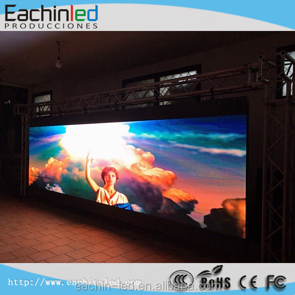 Eachin led All'interno di utilizzo p5 coperta noleggio display a led, palcoscenico/trade show video full color display a led