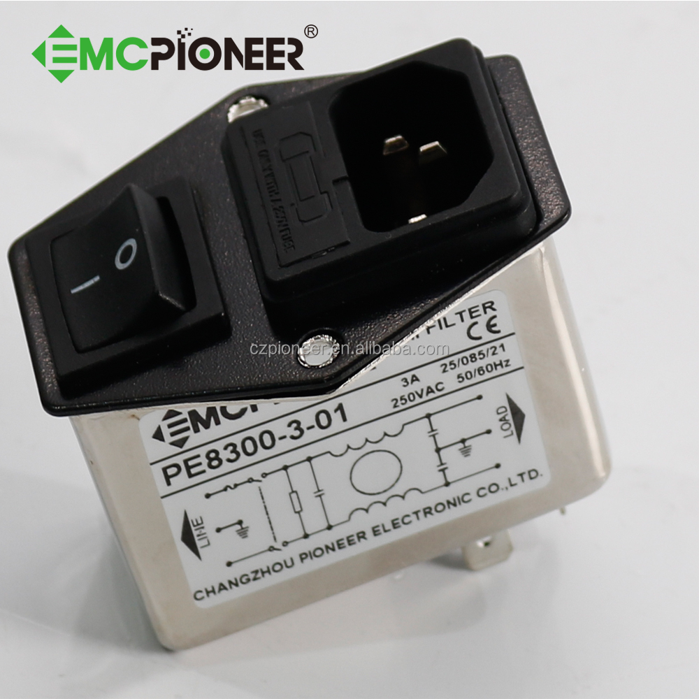 Emc Absorb Ac Socket Fuse Holder And Switch Emi Filter For En In 220 Screw Box Cameras Buy High Quality Filteremc Filteremi