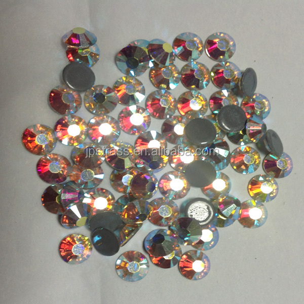 china hot fix rhinestones in 6A DMC world stones heat press