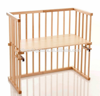 Baby cot attaches to bed bedside baby crib buy baby cot attaches to bed wooden baby cot - Bedside table that attaches to bed ...
