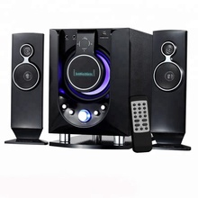 Museeq De Meest Populaire 2.1 Ch Multimedia Speaker Systeem Met Usb/Sd/Fm Functie Voor Home <span class=keywords><strong>Theater</strong></span>