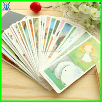 Yiwu 2015 New Arrived fancy special custom made printing creative unique bookmark -sticker