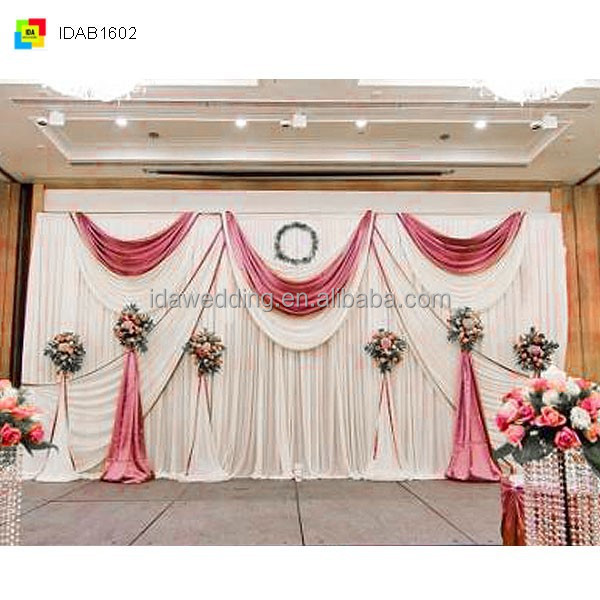Wedding Decoration Textile Cheap Wedding Drapes Mandap For Wedding