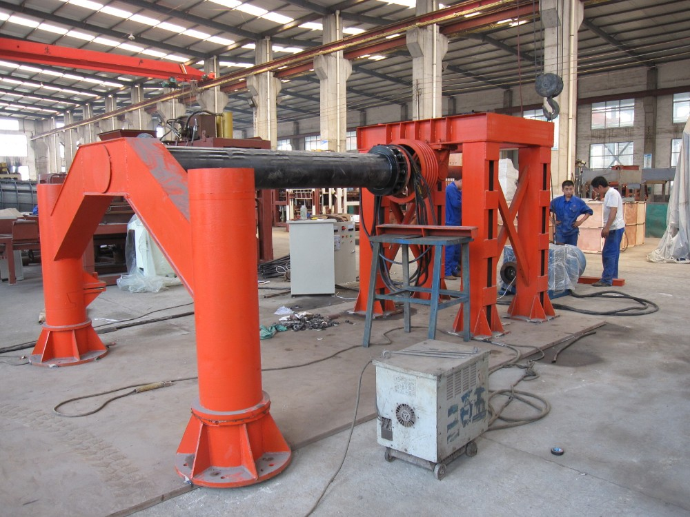 Hanging Roller Machine For Reinforced Concrete Pipe,Hf