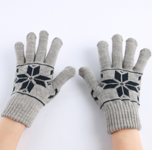 Women and man Acrylic Winter Keep Warm Knitted Gloves