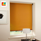Shade Vendor Elegant Drapes Yellow Blackout Bathroom Roller Curtains Hotel Bathroom Blackout Mini Sheer Roller Blinds