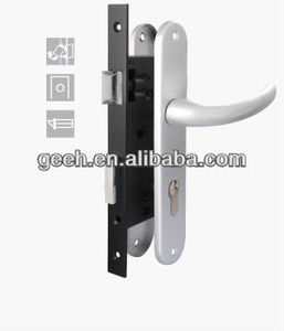 Mortice lock body series assemble standard cylinder