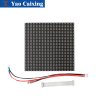 Customizable P6 indoor RGB full color 32x32 pixels pitch panel 192x192mm SMD dot matrix led display screen digital tv board