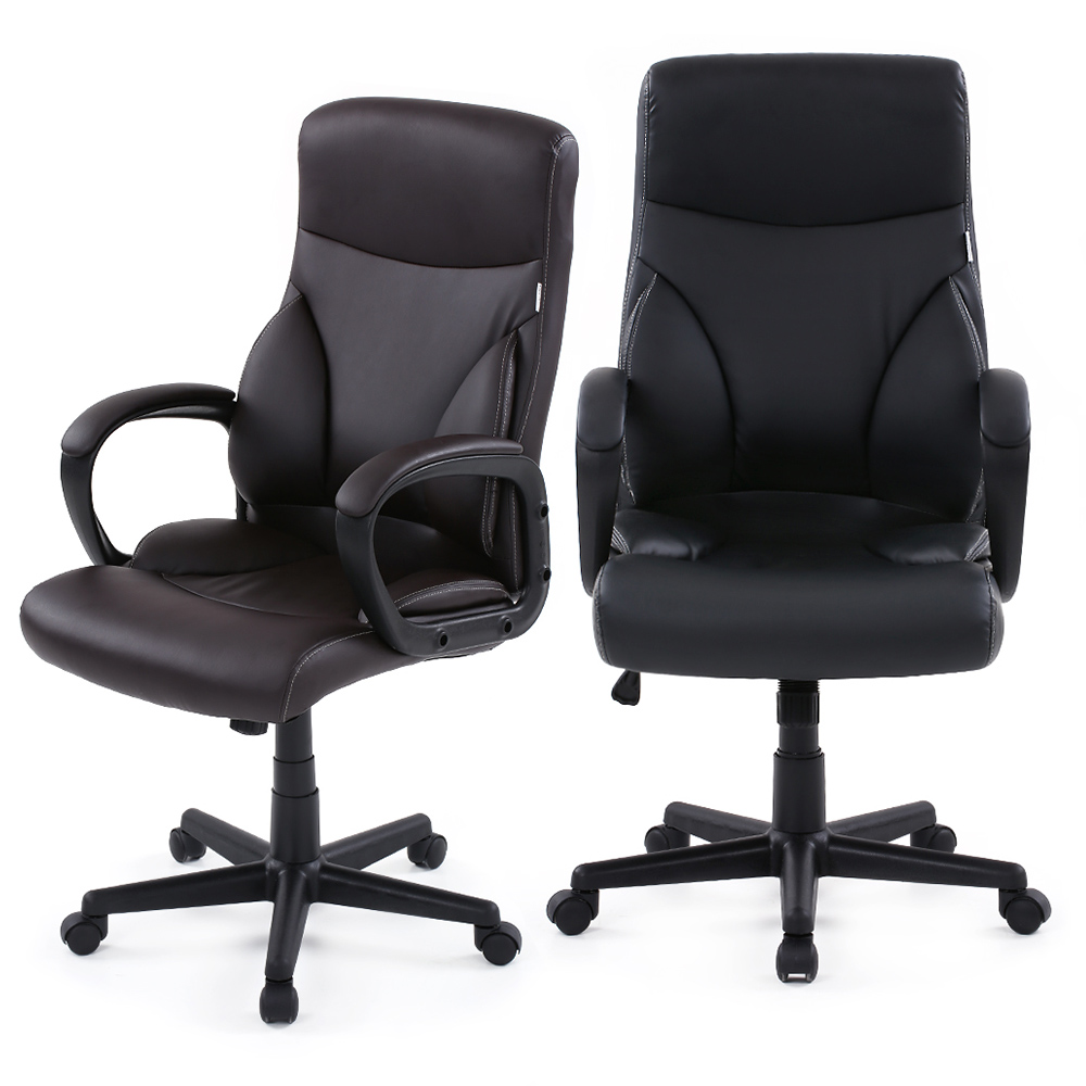 Acquista all 39 ingrosso online ufficio sedie in pelle da for Mobili ufficio stock