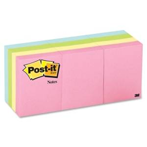 "3M Commercial Office Supply Div. Post-It Notes, Original, 1-1/2""X2"", 12/Pk, Assorted Pastel - 3M Commercial Office Supply Div. Post-It Notes, Original, 1-1/2""X2"", 12/Pk, Assorted Pastelpost-It Notes"