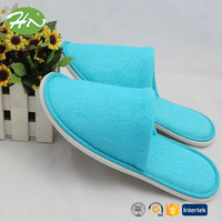 close toe women cotton plush terry slipper wholesale