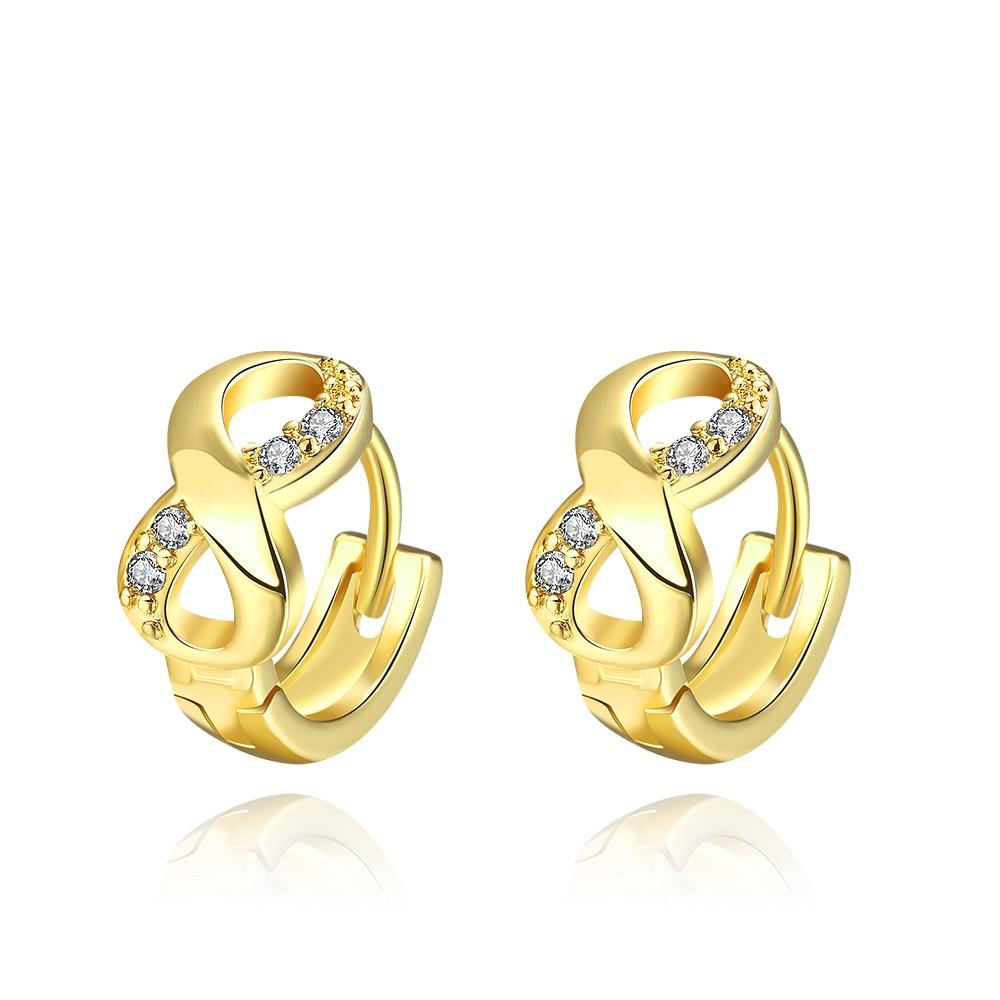 Latest Cute Girls Earrings For Malabar Gold Earrings Figure 8 Clip ...