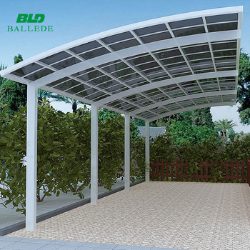 Durable Custom Easy Install Aluminum Used Metal Carports Sale For ...