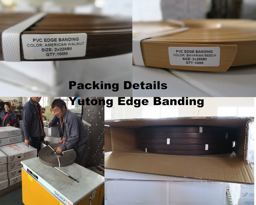 Pvc/abs/acrylic/3d Edge Banding Strips/edgebanding Pvc - Buy Edgebanding  Pvc,2mm Pvc Edge Banding,Plastic Edge Strip Product on Alibaba com