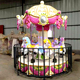 Newest design electric motor carousel musical carousel horse